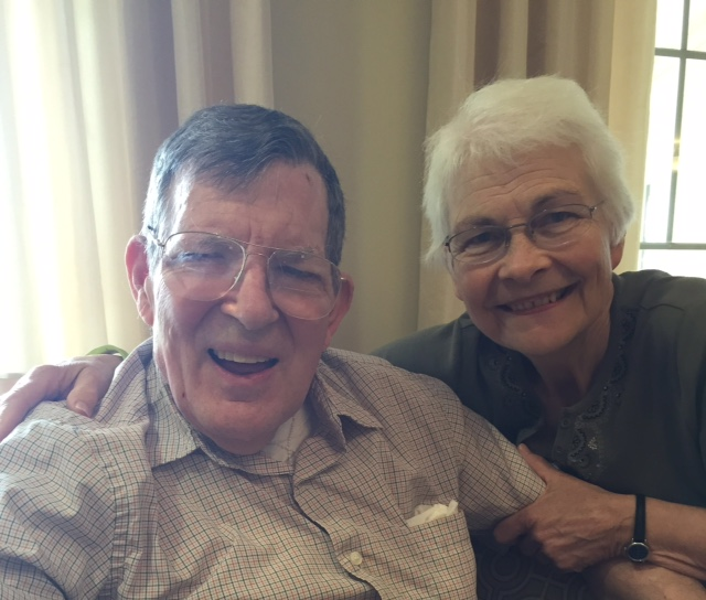 Steve and Ann at Trillium Woods assisted living in Plymouth, Minnesota