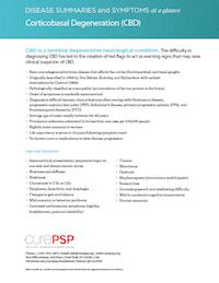 CBD Disease Summary Sheet